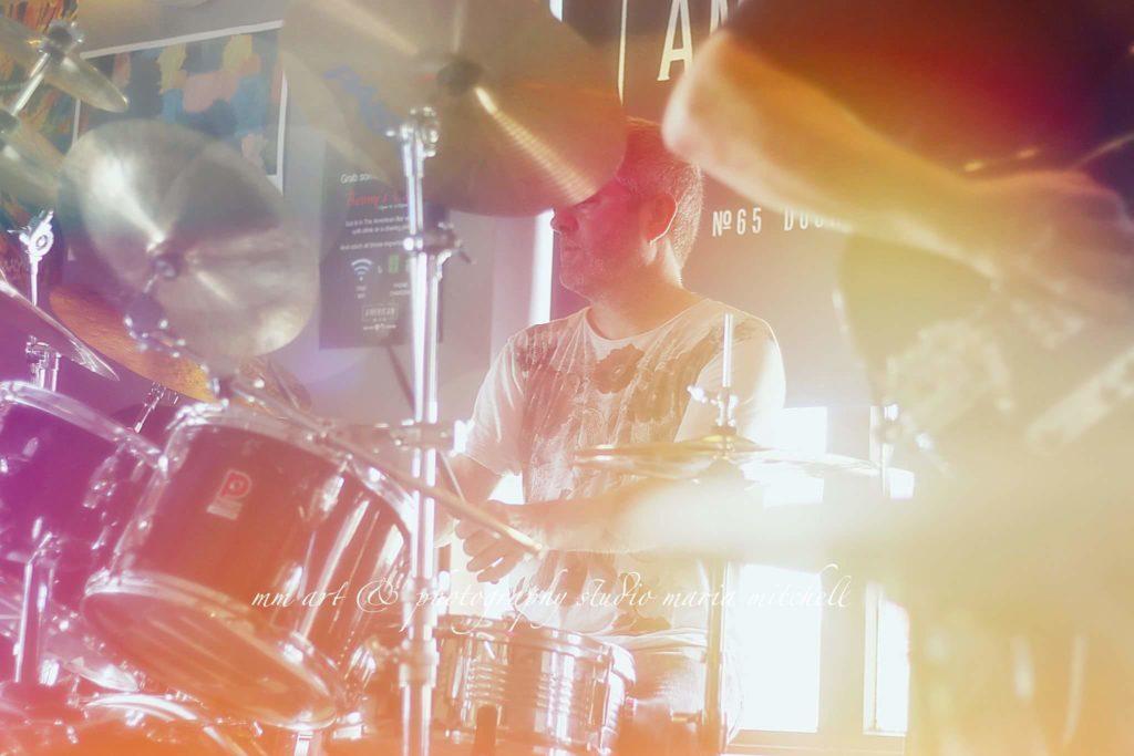 Jason O'Rourke drums